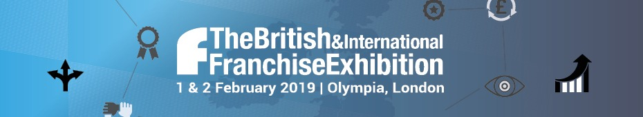 british international franchise exhibition banner